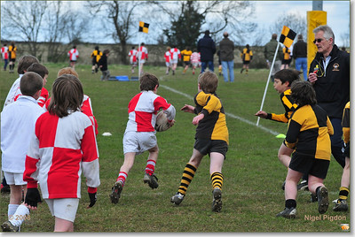 April 2008 - mini Rugby u10's