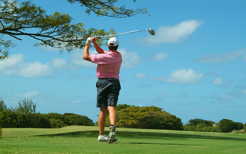 Golf in Barbados photographed by Barbados Photography