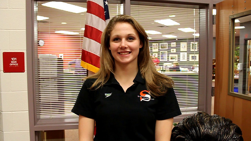 Heritage High School senior Valerie McMullen has signed a NCAA Division I scholarship to swin at the University of Utah