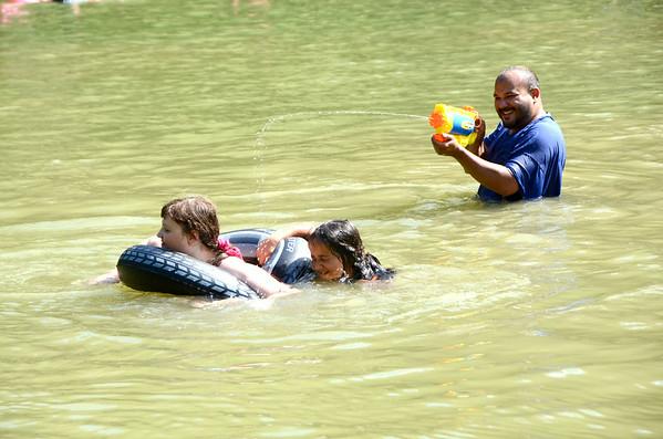 People swim at Margaret Lindley Park-070914