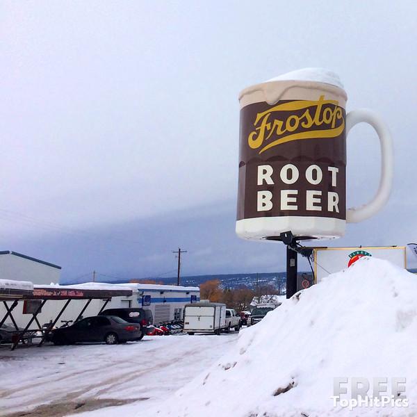 Frostop Root Beer Drive-In, Ashton, Idaho, USA