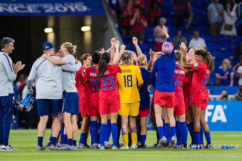 2019 FIFA Women's World Cup - England vs USWNT