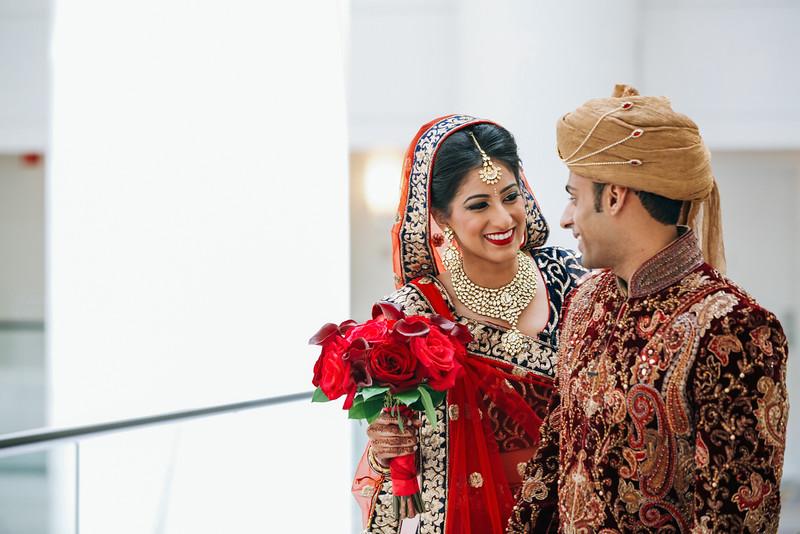Le Cape Weddings - Indian Wedding - Day 4 - Megan and Karthik First Look 13.jpg