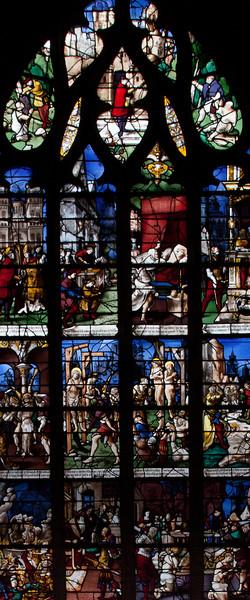 Gisors, Saint-Gervais-Saint-Protais Church, The Saint Crepin and Saint Crepinen Window