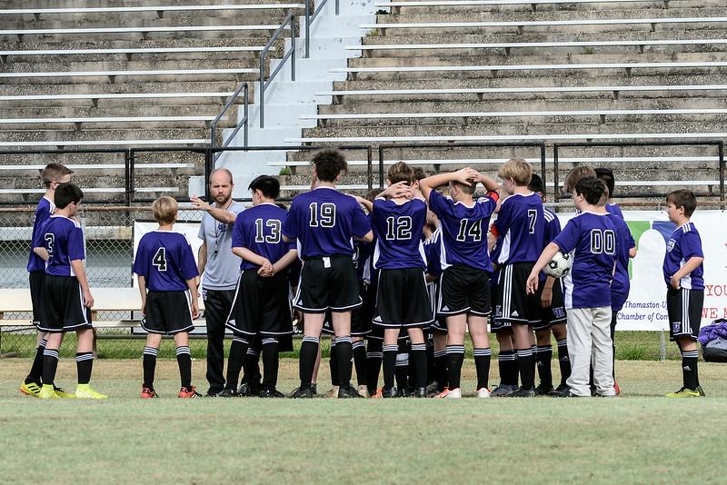 March 11, 2020 - ULMS Boys Soccer
