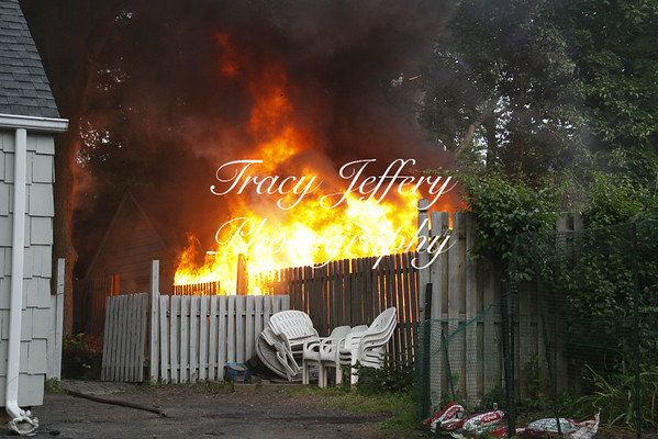 Shed Fire- 66 Hillsdale Ave 6-25-14
