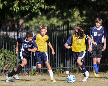 Oct 23 - Soccer Gold vs Holy Family B