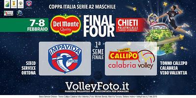 Sieco Service Ortona - Tonno Callipo Calabria Vibo Valentia   SemiFinale CI