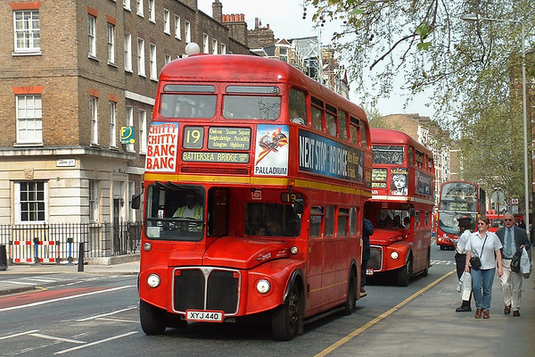 26th April 2004: Wolverhampton and London Buses