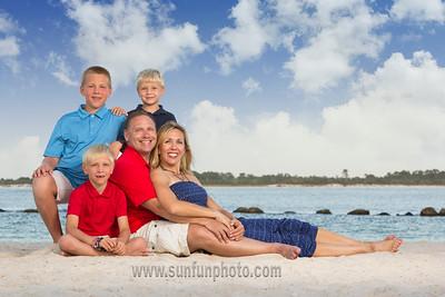 The Hanon Family Panama City Beach 2015 - Sun Fun Photo