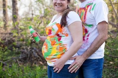 5.7.15 - Kara & Mark {green baby bump}