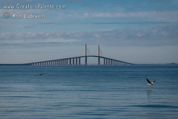 Sunshine Skyway Bridge - Tampa Bay, St. Petersburg