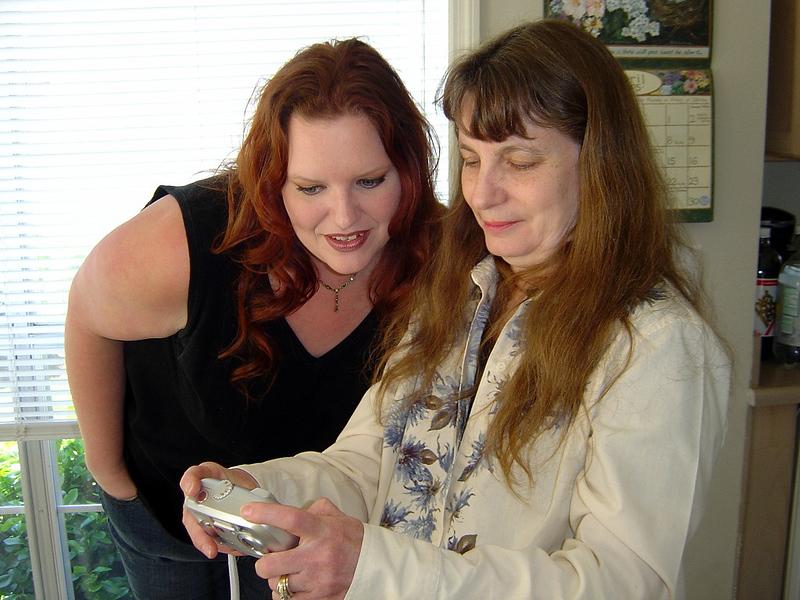 Jenn & Aunt Joy.  Picture taken by Sara .