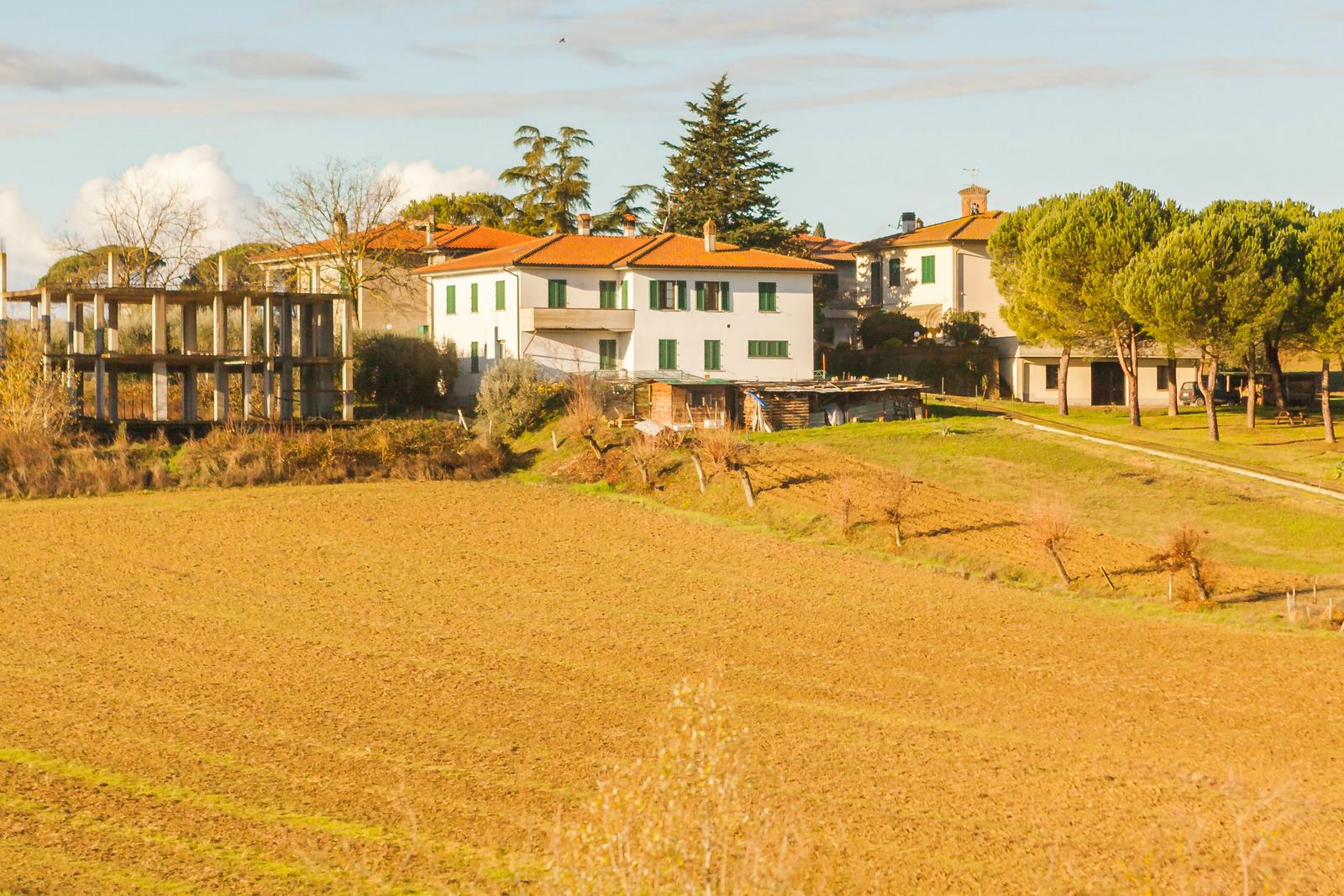 意大利路途,秋后的农村