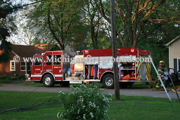 5/30/11 - Leslie garage fire, 309 State St