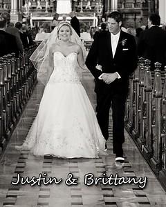 Brittany & Justin 8x10 Parent Album 2