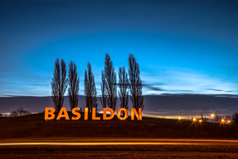 The Basildon Hollywood sign.