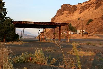 Ghost Truckstop in Biggs Junction, Oregon
