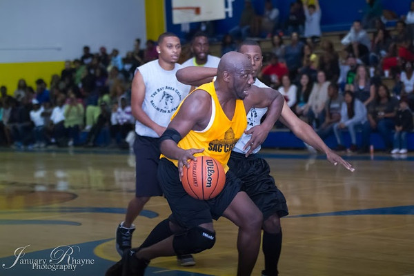 "Sac vs. The Bay"" Local Celebrity Basketball Tournament on 9/21/13"