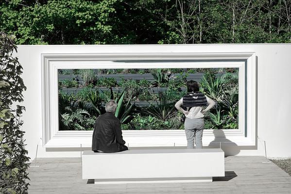 """Jardin """"Reflexion d'un collectionneur"""""""