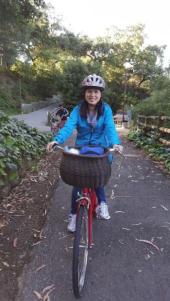 Biking Trip in Vasona Park - April 23, 2016
