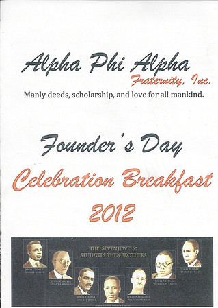Area 5 Founders Day Breakfast Richmond VA