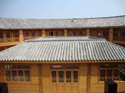 Hakka Houses in Xiajin Debai Tourism Town 夏津德百旅游小镇客家土楼