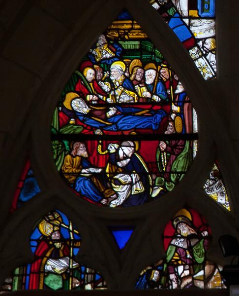 Troyes - Saint-Jean-au-Marc he - Death of the Virgin