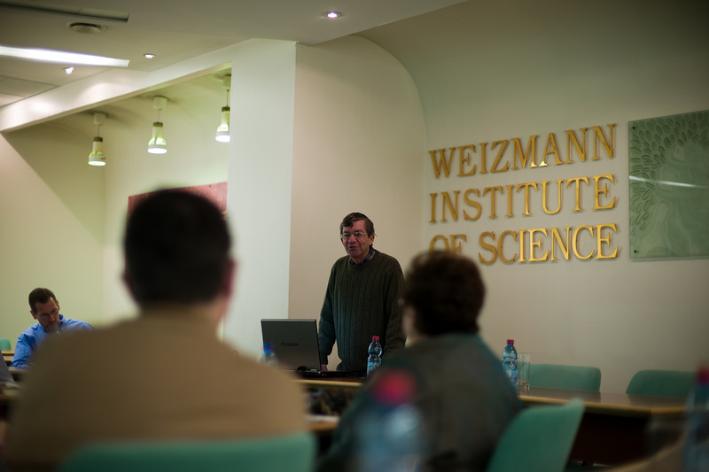 Professor Mudi Sheves, Chairman of YEDA at the Weizmann Institute.