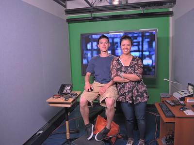 Vivian and Jon at Fox News