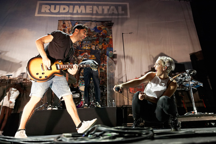 . Rudimental performs in support of Ed Sheeran at The Palace of Auburn Hills on Wednesday, Sept. 17, 2014. Photo by Ken Settle.
