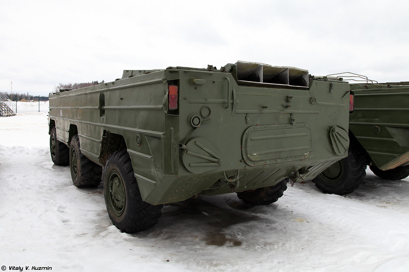 Специальное колесное шасси БАЗ-5939 (BAZ-5939 special wheeled chassis)
