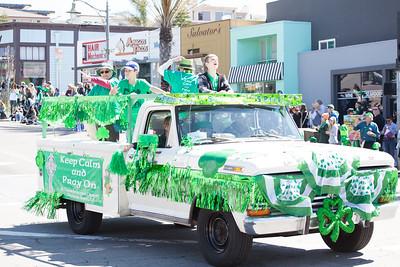 Hermosa Beach St Pattys Day Parade