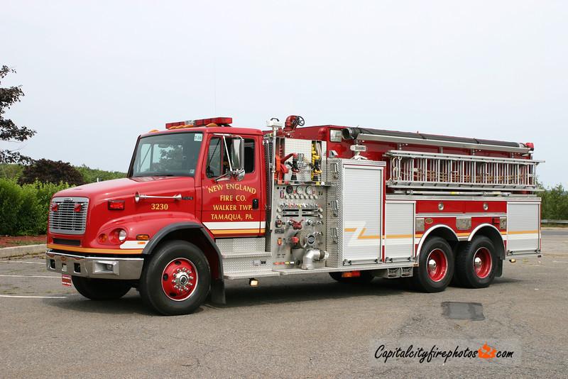 New England Fire Co. (Walker Township) Tanker 32-30: 2003 Freightliner/KME 2000/3000/30