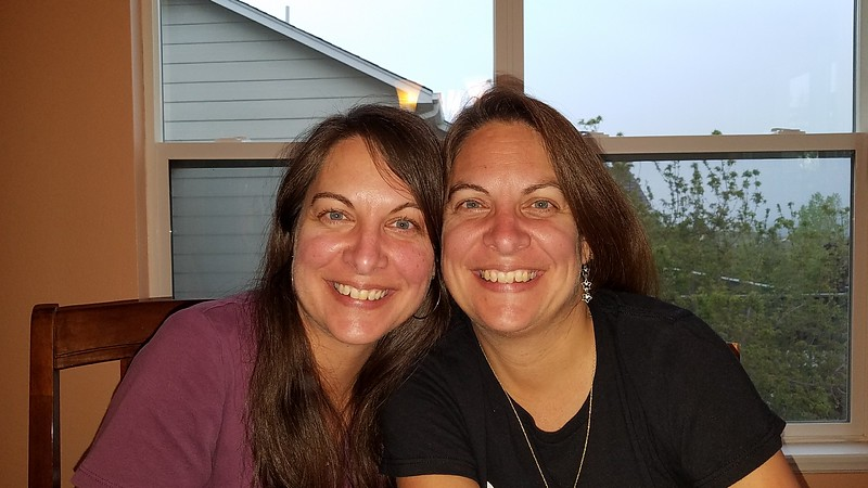Sisters! (Diane and Debbie)