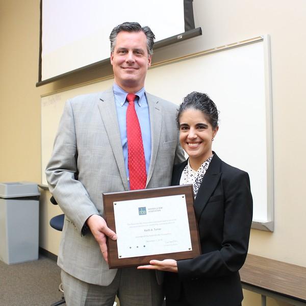 Erin Palmer Polly & Keith Throckmorton, President's Award