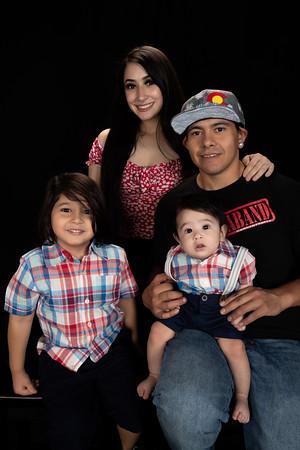Family Portrait Sept 2020 Jerico, Jasmine, Noah, Zion 5 mos.