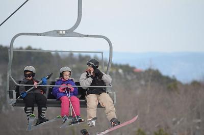 Skiing in Massanutten
