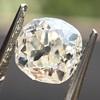 0.94ct Antique Cushion Cut Diamond GIA K Sl1 17