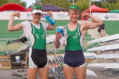 World Rowing U23 Championships 2018, Monday
