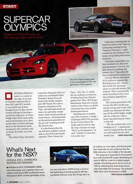 Autoweek - July 2011