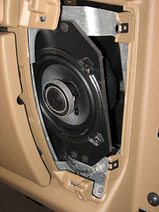 2000 Jeep Wrangler Front Speaker Installation