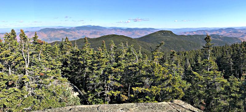 From Mt. Moriah, narrower panorama facing WNW.