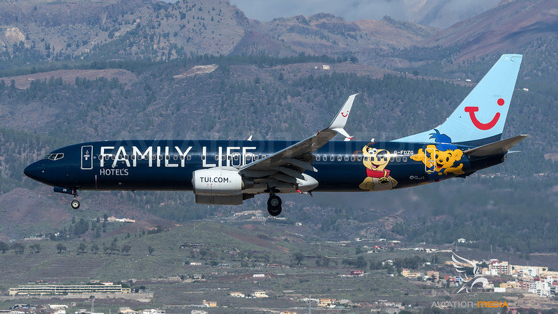 Thomson / Boeing B737-8K5 / G-FDZG / Family Life Hotels Livery