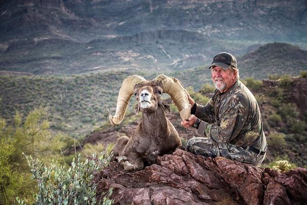 Carl's 2013 Desert Sheep Hunt