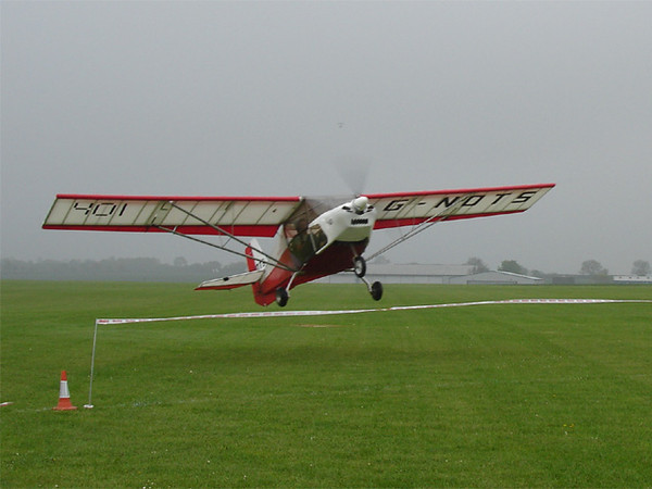 Paul demonstrates superb take-off in G-NOTS