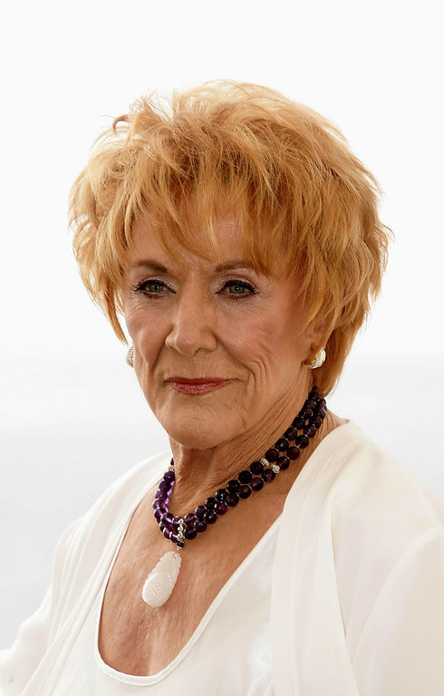 . Actress Jeanne Cooper poses during a photo call at the 45th Television festival of Monte Carlo on June 29, 2005 in Monte Carlo, Monaco.  (Photo by Pascal Le Segretain/Getty Images)