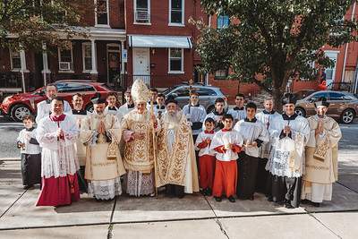Lancaster Pontifical Mass with Bishop Gainer