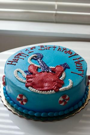 Henrys' First Birthday