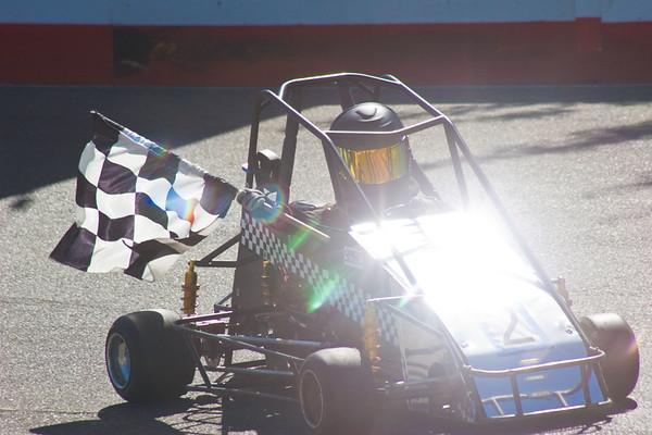 Quarter Midget Racing at Prairie City